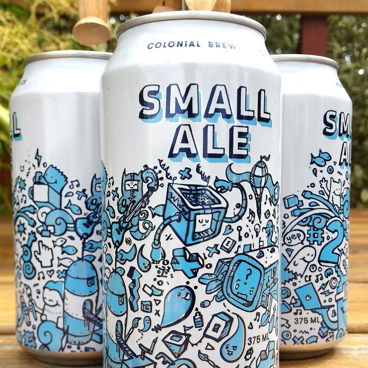 colonial beer can small ale collaboration