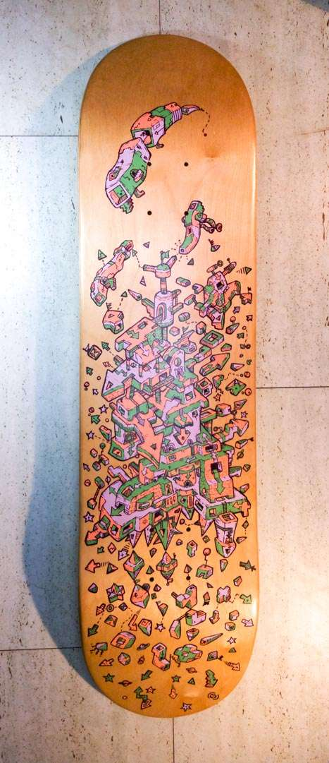Introvertical SKATEBOARD DECK